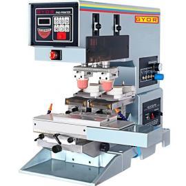 供应双色台式穿梭油墨移印机中型移印机2色移印机