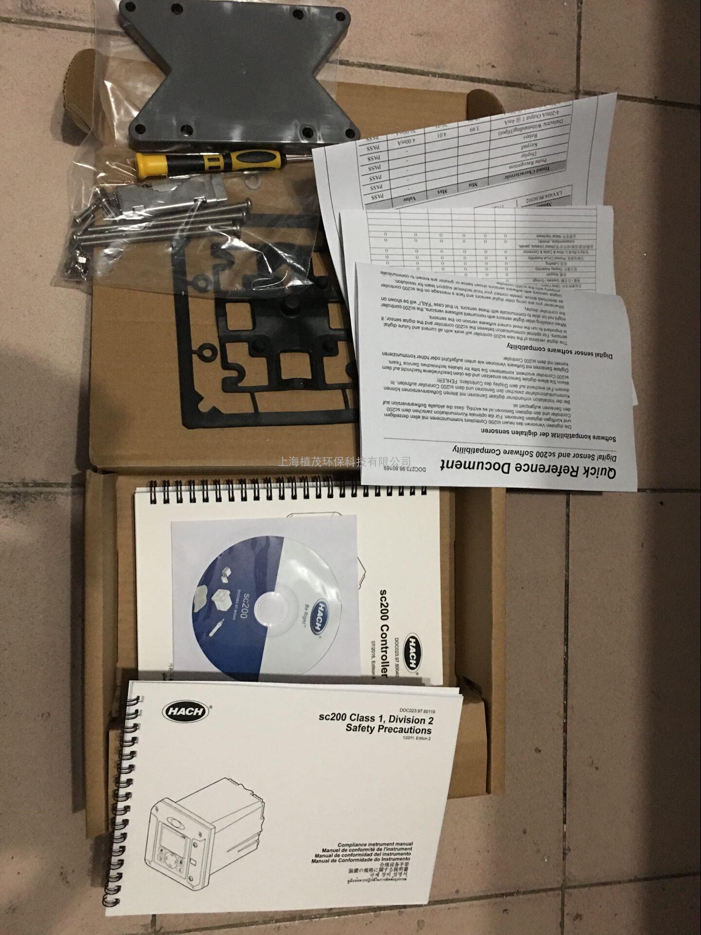 美国哈希数字型sc200控制器用于ldo 902000电极探头