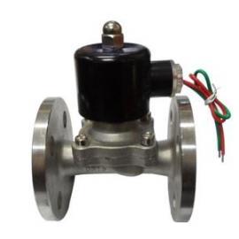 大口径外导式不锈钢304 法兰常闭式电磁阀