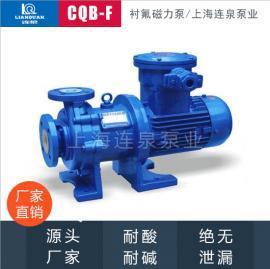 �B泉磁力泵�饬蛩彷�送�rF46酸�A泵CQB40-32-115F�r氟磁力泵