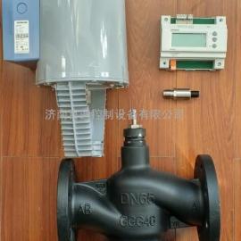 西门子电动减压阀 DN65调节阀+西门子SKC62执行器