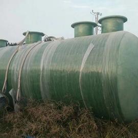 玻璃钢化粪池 污水罐储油罐隔油池玻璃钢一体化污水处理设备
