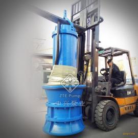大流量大的潜水轴流泵