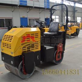 黄冈小型压路机厂家 夜间施工更方便 1吨座驾式小型压路机