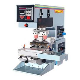 供应杰尔双色多功能油盘移印机 精密型移印机 GN-121SL 台式