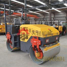 荆州小型压路机厂家 3吨座驾式小型压路机透水混凝土路面施工