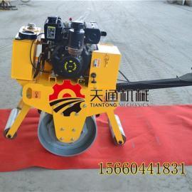 随州手扶压路机厂家 手扶式单轮压路机转动灵活爬坡压实有力