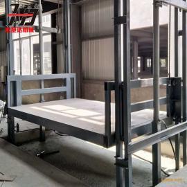 宏基达SJD导轨式升降货梯 载货电梯 液压升降平台价格