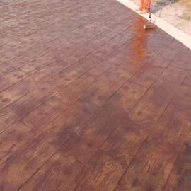 南京彩色混凝土压模地坪