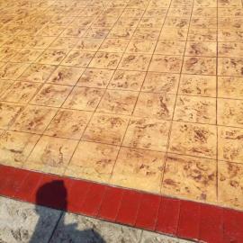 扬州街道压花地坪施工队