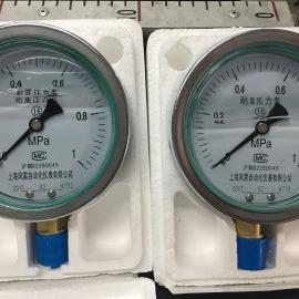 上风特供不锈钢耐震压力表YTN-60/100/150
