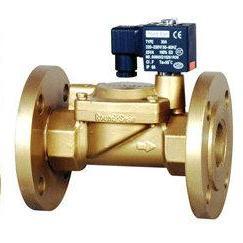 清洗设备电磁阀 常闭式法兰电磁阀 进水先导电磁阀