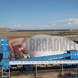 新型环保储煤场|可移动气膜仓库|气膜多少钱一平米-博德维气膜