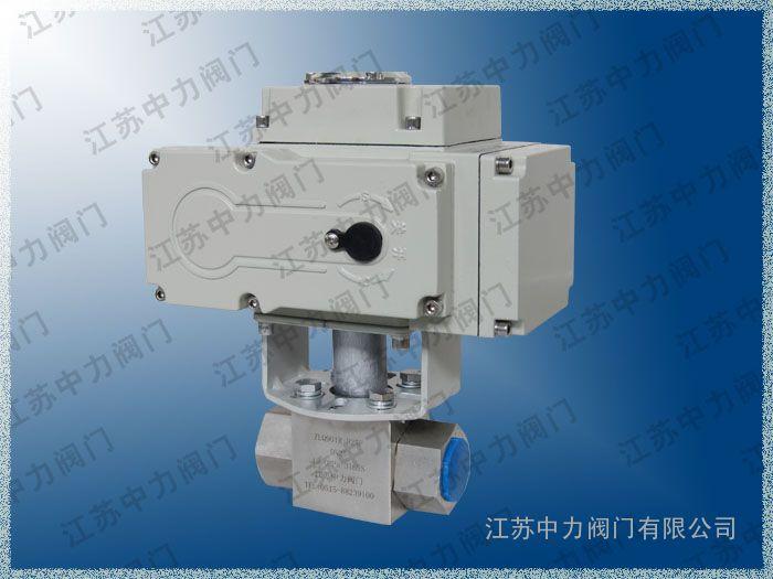 高压电动球阀,卡套式高压电动球阀生产厂家