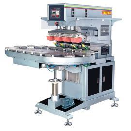 供应300型GN-137AB四色转盘移印机 油盘移印机