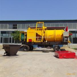 摊铺路面沥青的拌和机 导热油加热 每小时可出料6吨