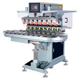 八色转盘油盅移印机进口多色移印机