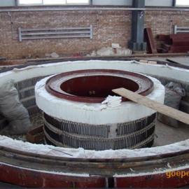 法兰锻造热处理炉,井式环件热处理炉