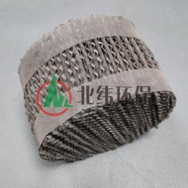 金属孔板波纹填料 波纹化工金属填料