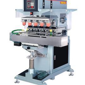供应250型GN-165AB五色转盘移印机 杰尔厂家直销 质量保证