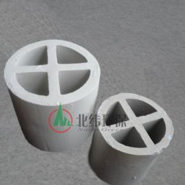 陶瓷十字环 十字隔板环 陶瓷化工填料
