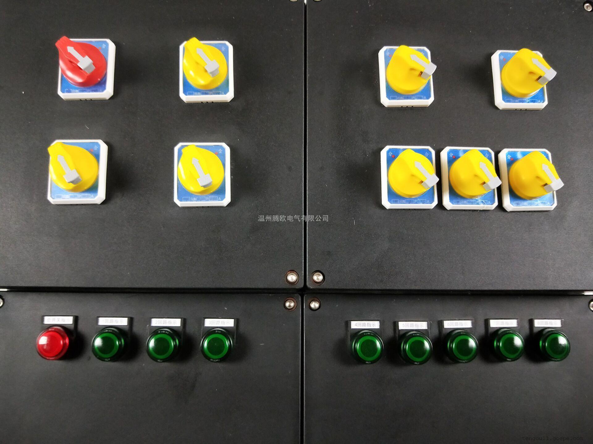BXMD8050-T正泰12A/8k/63A3P防爆防腐照明动力配电箱厂家