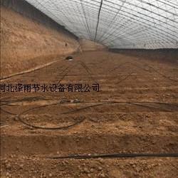 石家庄节水灌溉设备滴灌管厂家大棚保湿微喷头滴灌管