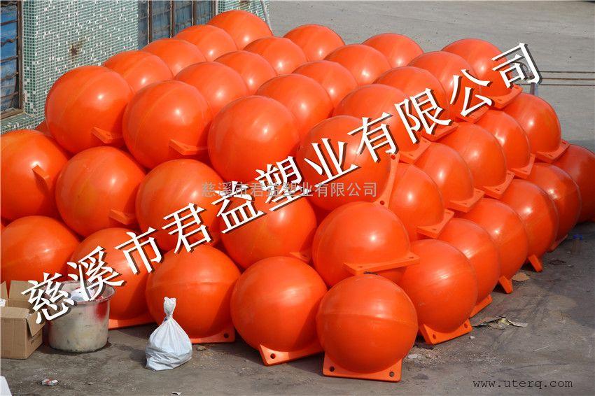 滚塑浮球直径80立方浮球,双耳浮球