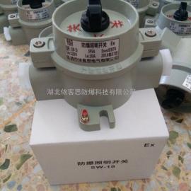 SW-10防爆安全照明开关_武汉厂家/化工厂_油漆厂等危险场所专用