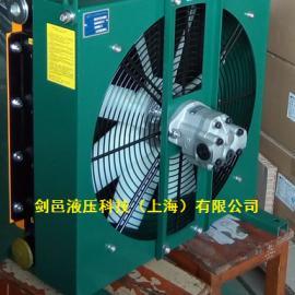 剑邑ELH系列高速液压马达驱动式液压风冷却器液压油散热器
