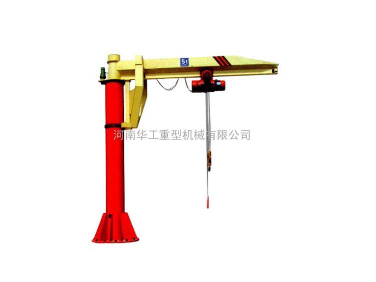 建筑起重提升吊料 2T立式单臂吊 电动旋转吊机 直销沧州广州