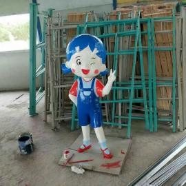 广西桂林玻璃钢卡通人物雕塑定制加工厂家
