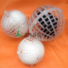 耐酸碱的塑料悬浮球填料