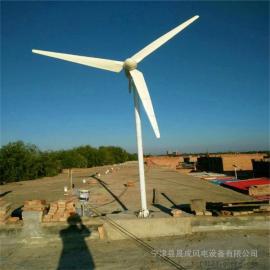 永磁离网3000瓦/W水平轴低转速风力发电机
