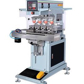 长期供应GN-118AEL四色穿梭手动移印机 高效精密塑料移印机