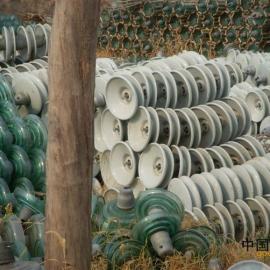 回收电力瓷瓶 回收绝缘子 回收玻璃绝缘子 电力金具回收