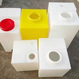 耐酸碱200升方形PE加药箱 200L塑料方形加药桶 塑料搅拌桶