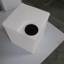方形加药箱厂家直供 500L塑料pe方形加药箱 加厚型品质保证