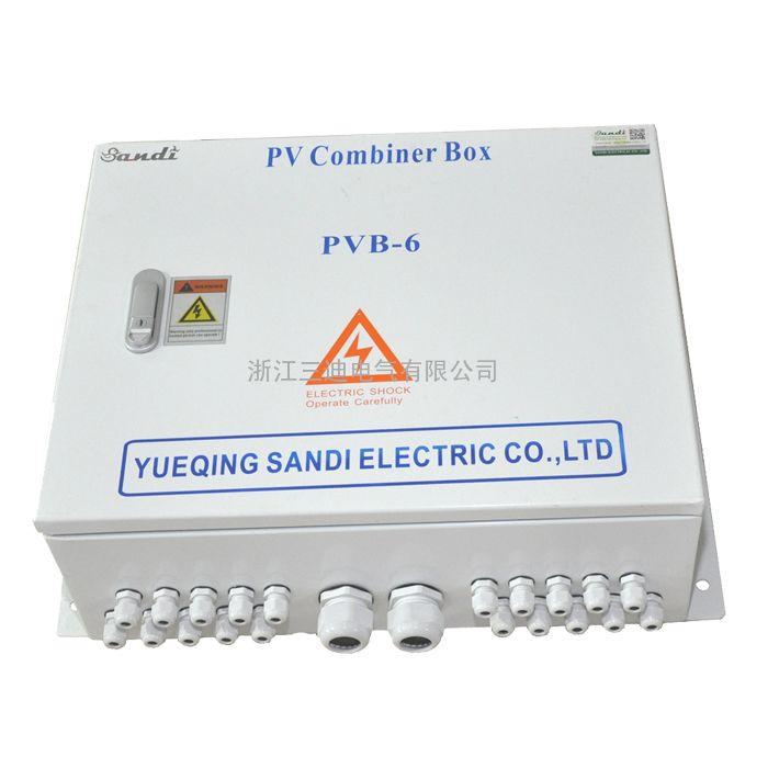 三迪电气太阳能发电系统光伏直流防雷防反汇流箱15KW家用汇流箱