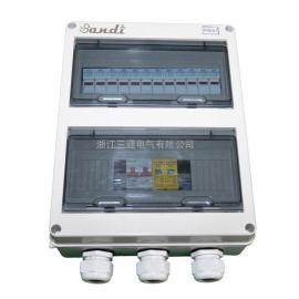 ABS光伏专用直流防雷6路汇流箱太阳能发电系统汇流箱厂家批发