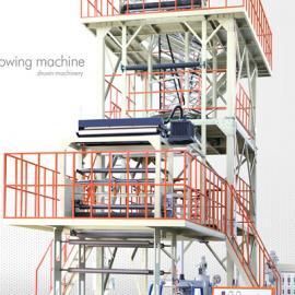 挤出吹塑薄膜成型设备中的冷却定型装置(冷却系统)
