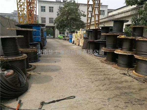 电葫芦吊车φ11钢丝绳 建筑起吊镀锌钢绳 可定做非标油绳 江苏