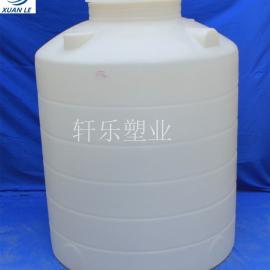 常州1吨水箱 加厚塑料水箱 PE耐酸碱化工原料储存圆桶 滚塑成型