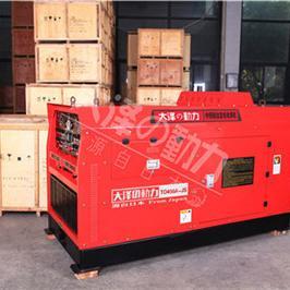 静音式400A柴油发电电焊机