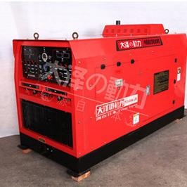 静音式500A四缸柴油发电电焊机组