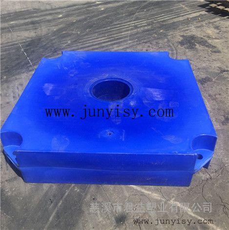 水上发电专用漂浮定做 电站排前塑料漂浮批发 定做水上漂浮