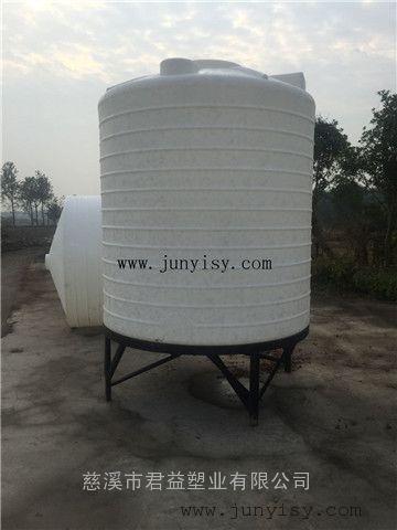 5立方锥底加药搅拌罐直销 5吨搅拌PAM塑料PE罐