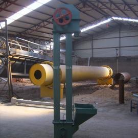 斗式提升机可和碾米机等机器配套使用