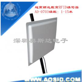 厂家直销 915M无源RFID远距离读卡器/超高频读卡器/UHF RFID