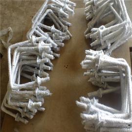 厂家供应电镀锌热烫锌U型螺栓 U型管卡 地脚螺丝 双头螺栓 重质